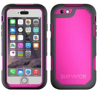 Griffin Survivor Summit for iPhone 6 6s, Gray Pink