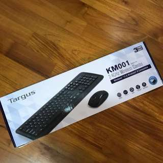 Targus wireless keyboard and mouse