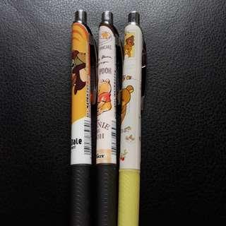 Chip & dale / winnie the pooh / rilakuma pentel 0.5 pencil / pen