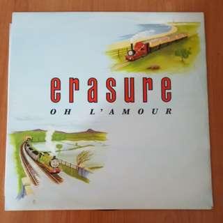 Oh L'amour - Erasure ( 12'Single Vinyl Record)
