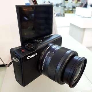 Kamera Canon EOS M100 New Mirorles MURAH (Kredit Dp 0%)
