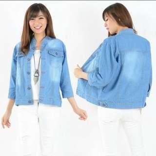Jaket jeans liana