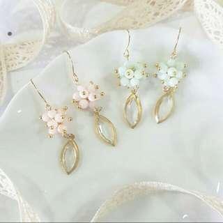 • Asteroids • Handmade Earrings • Long • Dangling