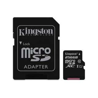 Kingston micro SDXC 256gb 45mbps SDC10G2/256GB