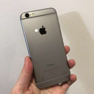 Unlocked iPhone 6 16gb (space gray)