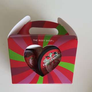 Body Shop Gift Set - frosted berries treat box