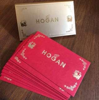 HOGAN RED POCKET SET 利是封 10個  / 狗年 / RED PACKET / 10 EVENLOPES / 紅包 / 限量 / 名牌