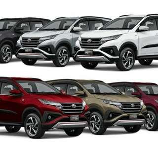 Toyota RUSH 2018 Dp 5jt