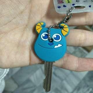 毛怪單支鑰匙套