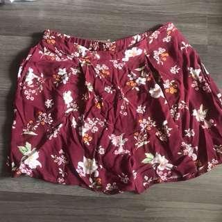 Stradivarius Floral Shorts