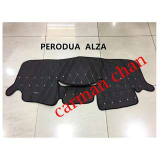 PERODUA ALZA DAD NON SLIP DASHBOARD COVER WITH DIAMOND