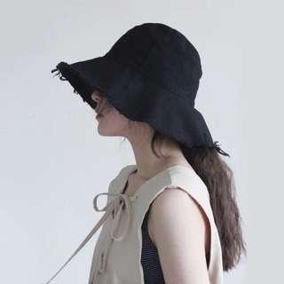 🚚 原宿大帽沿鬚邊漁夫帽