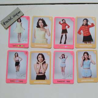 [READY STOCK] TWICE TWICELAND ENCORE CONCERT PHOTOCARD SET (CHAEYOUNG)
