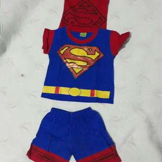 Superman Outfit For Kids