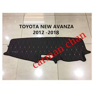 TOYOTA NEW AVANZA 2012 - 2018 DAD NON SLIP DASHBOARD COVER WITH DIAMOND