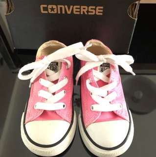Converse shoe pink 7