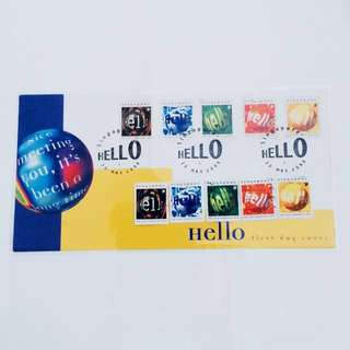 2 Full Sets 1998 HELLO Stamps