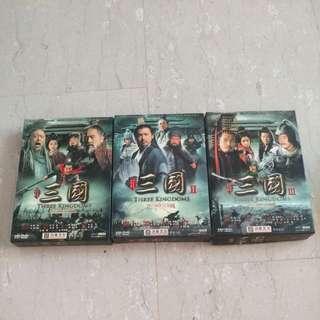 三国演义 (Three Kingdoms) DVD HD Set!