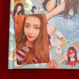 Red Velvet Rookie album photocard