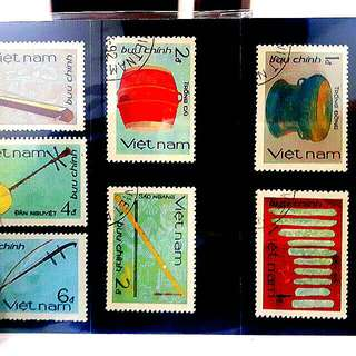 Vietnam stamp collection original (Viet Tribal Edition)