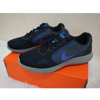 Sepatu Cowok Nike Revolution 3 - Running Shoes Mens
