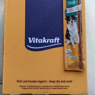 Vitakraft dog stick / April 2018