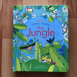 Usborne Peep Inside - The Jungle