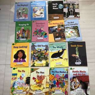 Reading Bee Readers (K1 level)