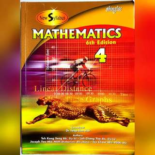 New Syllabus Mathematics (Sec 4, 6th Edition)