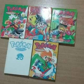 Pokemon Adventures Issue 22 to 26 (5 books) by Satoshi Yamamoto