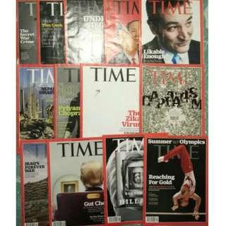 2017 TIME Magazines