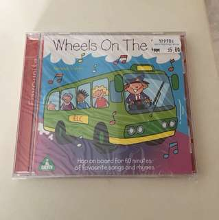 Nursery songs and rhymes CD for toddlers