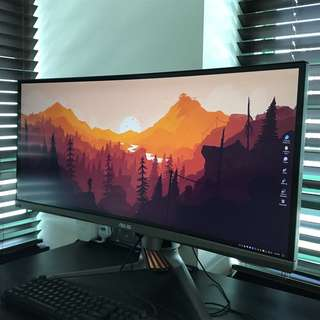 Asus ultra wide gaming monitor