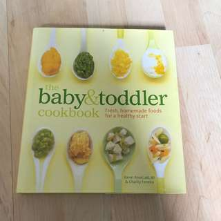 Baby & Toddler Cookbook