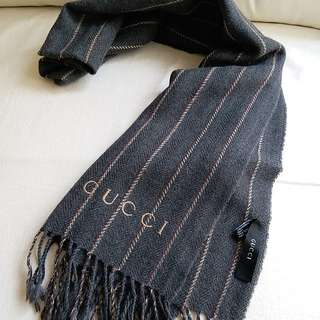 (薄款)Gucci Vintage Scarf