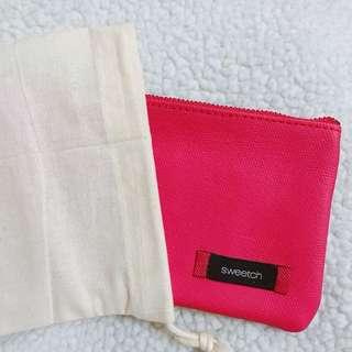 韓國品牌 sweetch BILL POUCH RED 散銀包連鎖匙扣