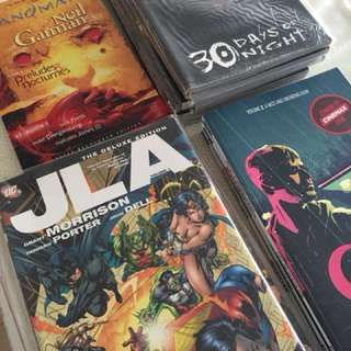 Pre-Loved Graphic Novels
