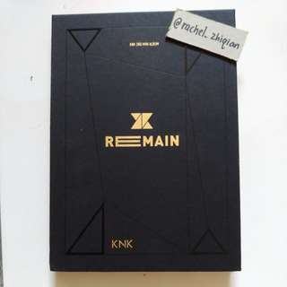 KNK REMAIN ALBUM