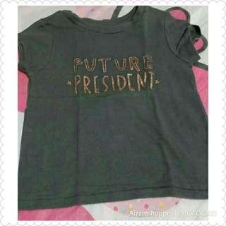 Future President Shirt (2T)