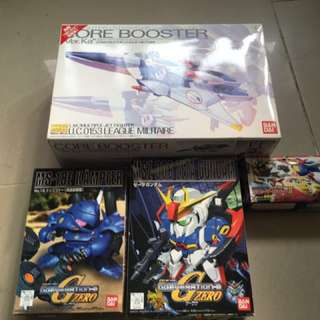 MG v gundam ver Ka, z gundam , kampfer, core fighter