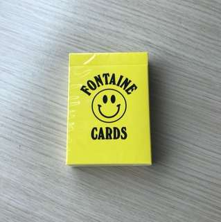Chinatown fontaine playing cards