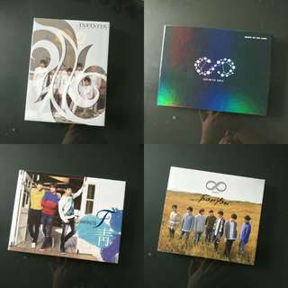 [WTS] Infinite unsealed album clearance