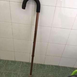 Extendible walking stick