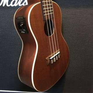 23inch ukulele Kala with bag , auto tuner plug in