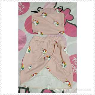 Pony Backless and Skirt (2-3 yrs old)