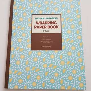 Natural European Wrapping Paper