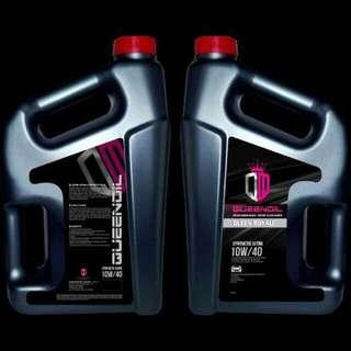 Minyak enjin queen oil
