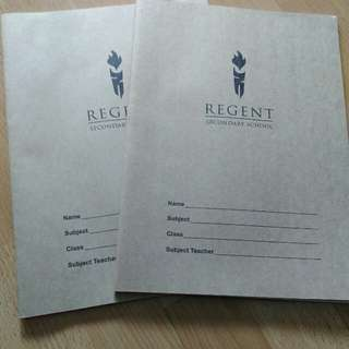 Regent Secondary School A4 Size Exercise Book