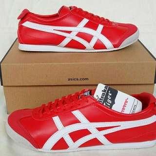 Asics onitsuka tiger gym red white