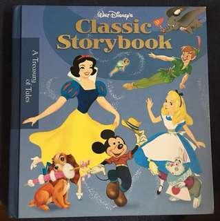 Disney Classic Storybook 迪士尼英文故事書